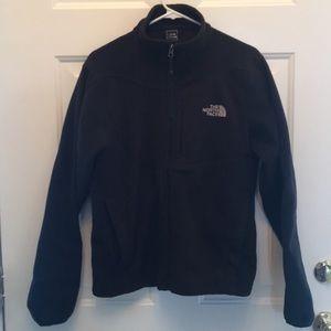Men's black North Face fleece